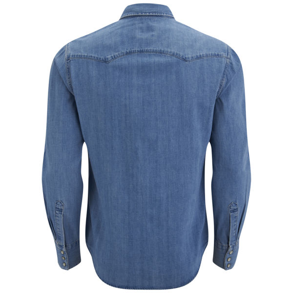 Levi 39 S Men 39 S Long Sleeve Slim Fit Sawtooth Western Shirt