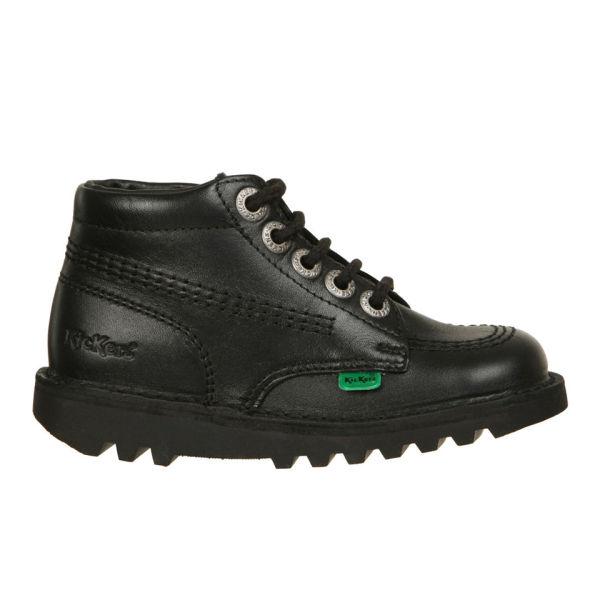 Kickers Kids' Kick Hi Boots - Black