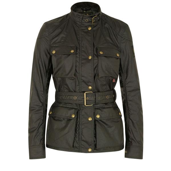 Belstaff Women's Roadmaster Jacket - Military Green
