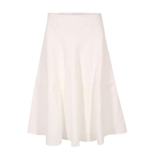 Great Plains Women's J3BG9 Sandbanks Linen Tiered Skirt - White