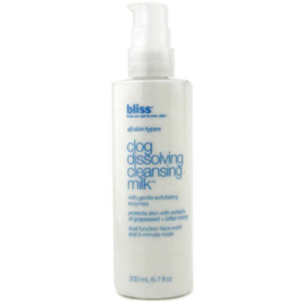bliss Clog Dissolving Cleansing Milk (200ml)