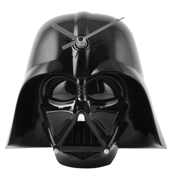 Star wars 3d darth vader helmet wall clock iwoot - Darth vader wall clock ...