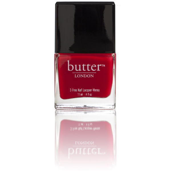 butter LONDON Come to Bed Red 3 Free Lacquer 11ml