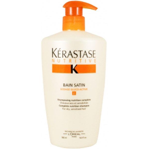 K rastase nutritive bain satin 2 500ml free delivery for Kerastase bain miroir 2 shampoo