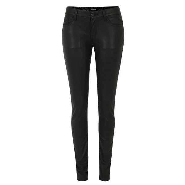 Denham Women's Cleaner SPL Faux Leather Jeans - Black