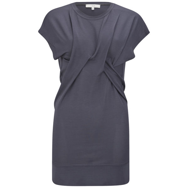 IRO Women's Missy Twist Front Dress - Dark Grey