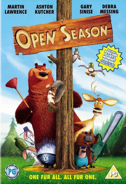 Open Season 2006 Dvd Zavvi Com