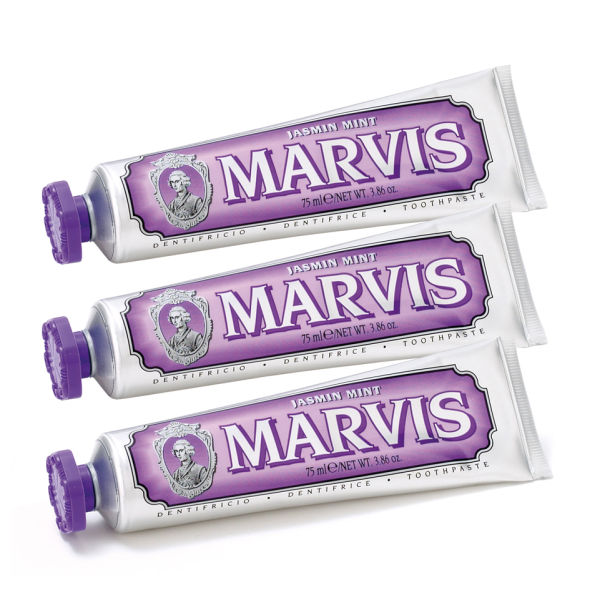 Marvis Jasmine Mint Toothpaste Triple Pack (3 x 75ml)