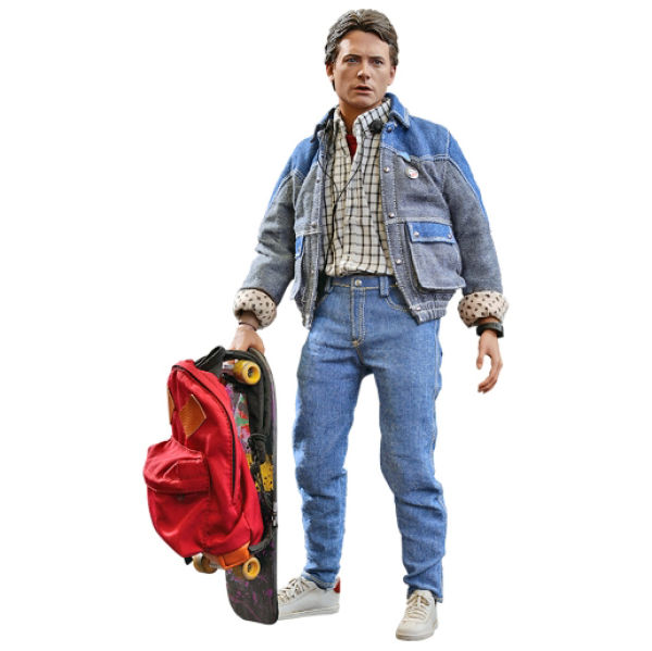 Hot Toys Back To The Future Marty Mcfly 1 6 Scale Figure