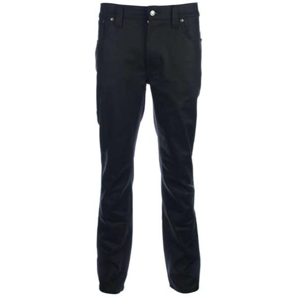 Nudie Jeans - Nudie Thinn Finn Dry Coated Jeans in Black
