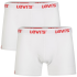 Levi's Men's 2-Pack Boxer Shorts - White: Image 1