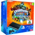 PS3: New Sony PlayStation 3 Slim Console (12 GB) - Black - Includes Skylanders Giants and Exclusive Portal Character: Image 1