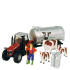 Massey Ferguson Tractor & Trailer Playset with Cows: Image 1
