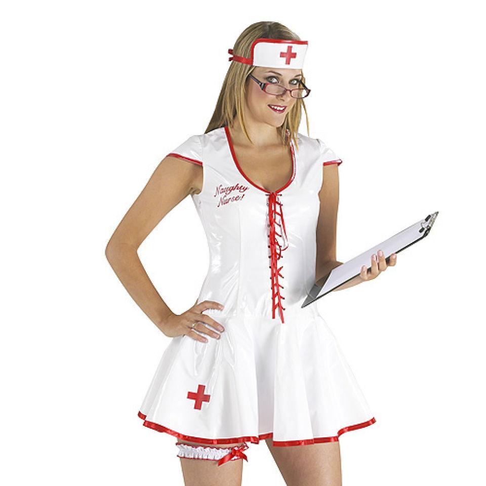 Naughty Nurse Pvc Uniform Iwoot