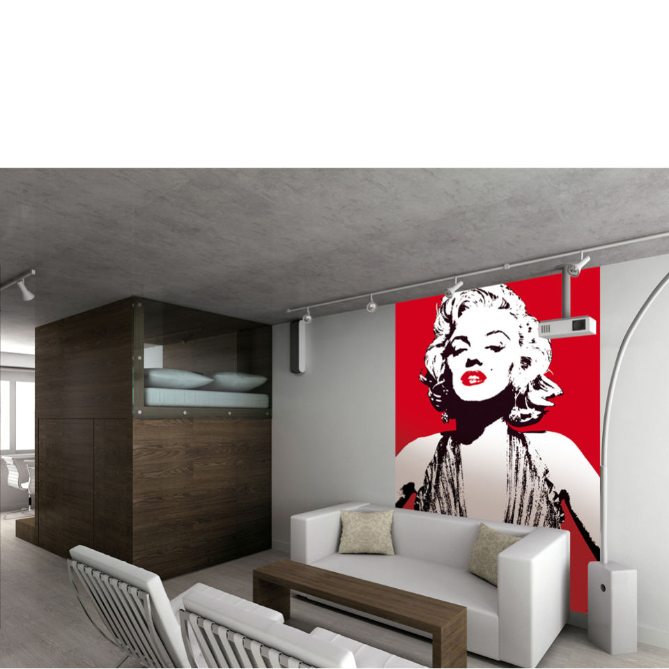 marilyn monroe designer chic wall mural iwoot new sexy marilyn monroe removable wall sticker bedroom