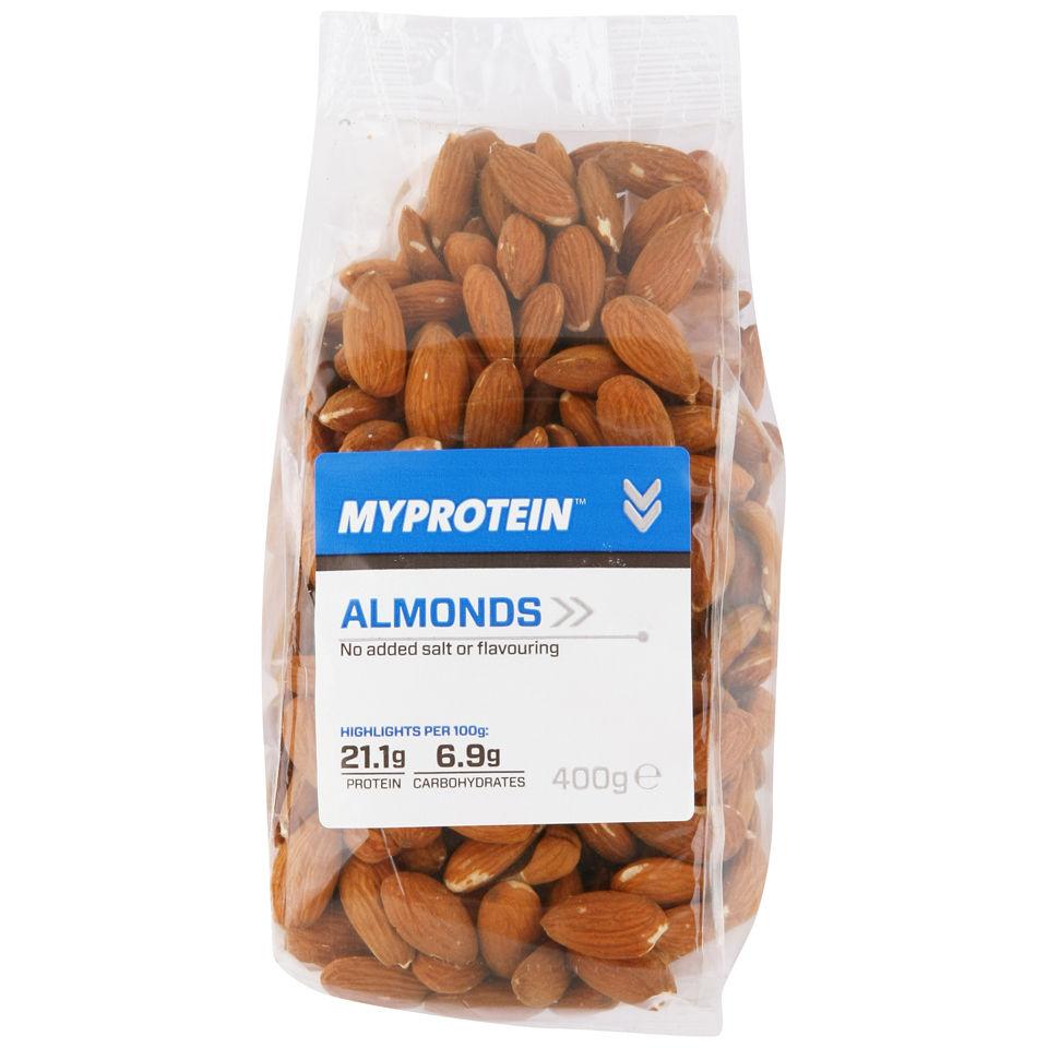Acheter Fruits à coque naturels (amandes entières)   Myprotein