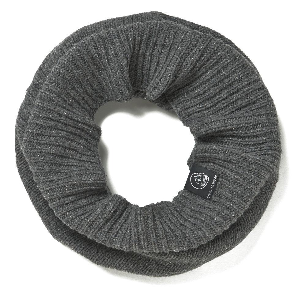 cheap monday knitted scarf grey clothing thehut