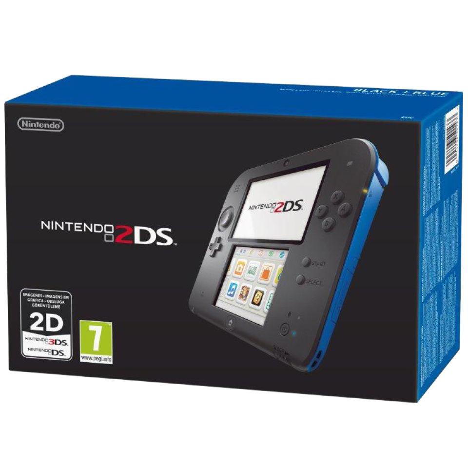 Compra Negro & amp; Consola azul 2DS y New Super Mario Bros. 2 de nuestra Nintendo 3DS, 2DS - gama DSi. (Super Mario Bros)