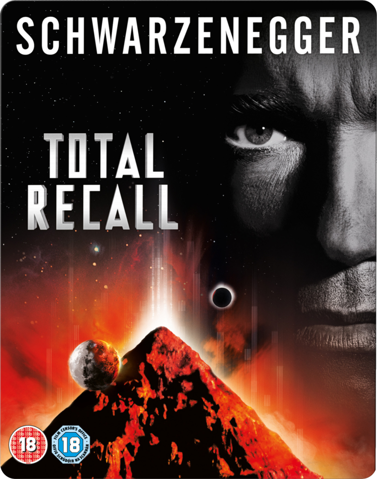 Total Recall Limited Edition Steelbook Triple Play