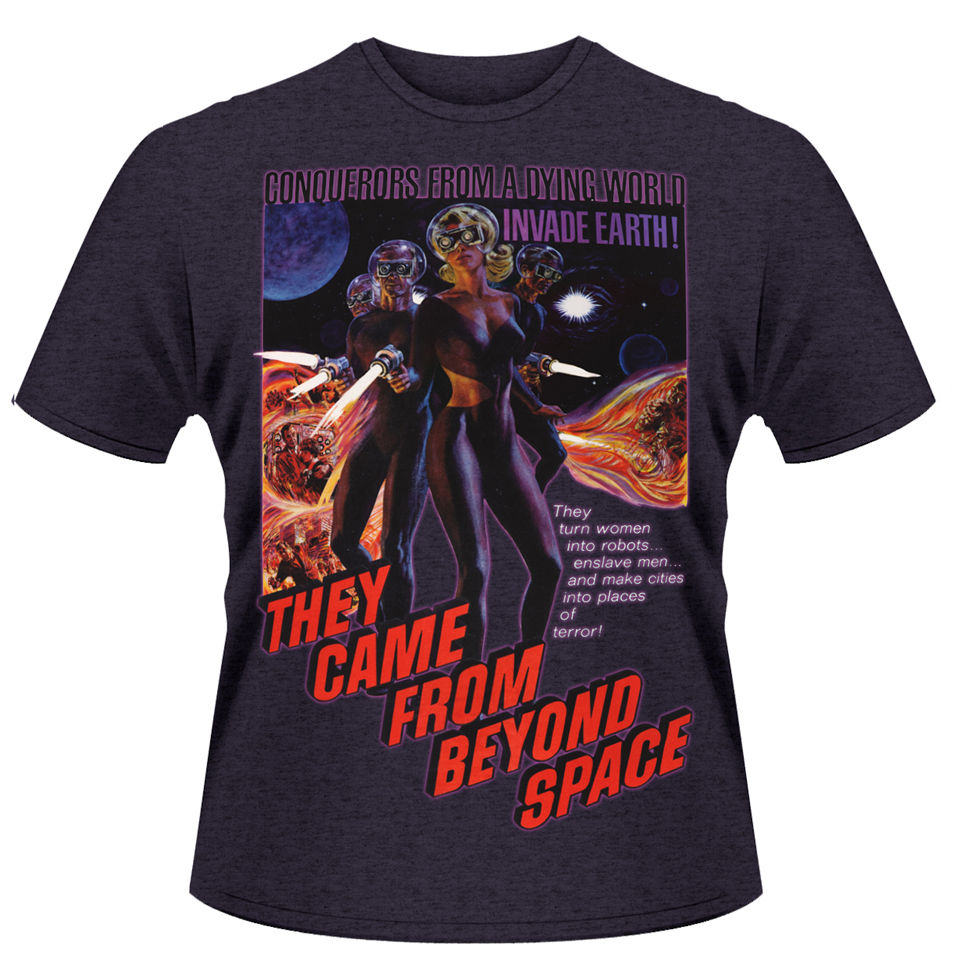 They came from outer space men 39 s t shirt iwoot for Outer space clothing