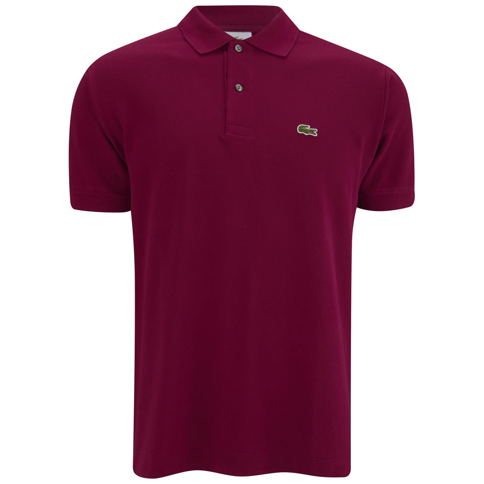 Lacoste men 39 s polo shirt burgundy clothing Burgundy polo shirt boys