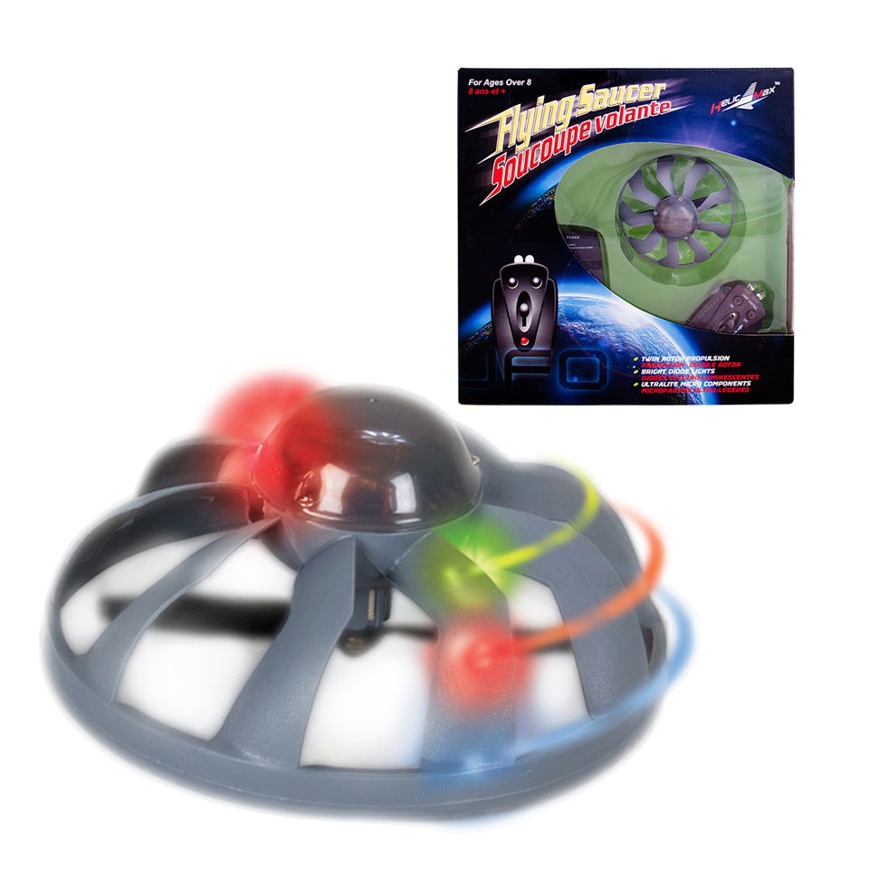 Flying Toys For Boys : Remote control flying saucer iwoot