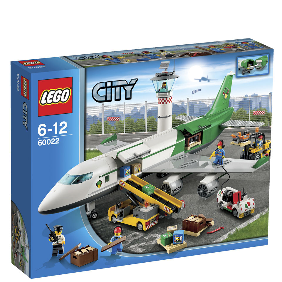 Lego City Airport Cargo Terminal 60022 Iwoot