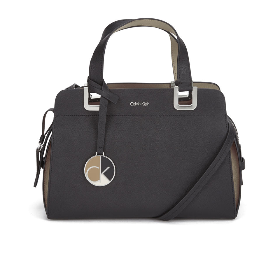 Perfect Calvin Klein Womens Valerie Triple Compartment Tote Bag  EBay