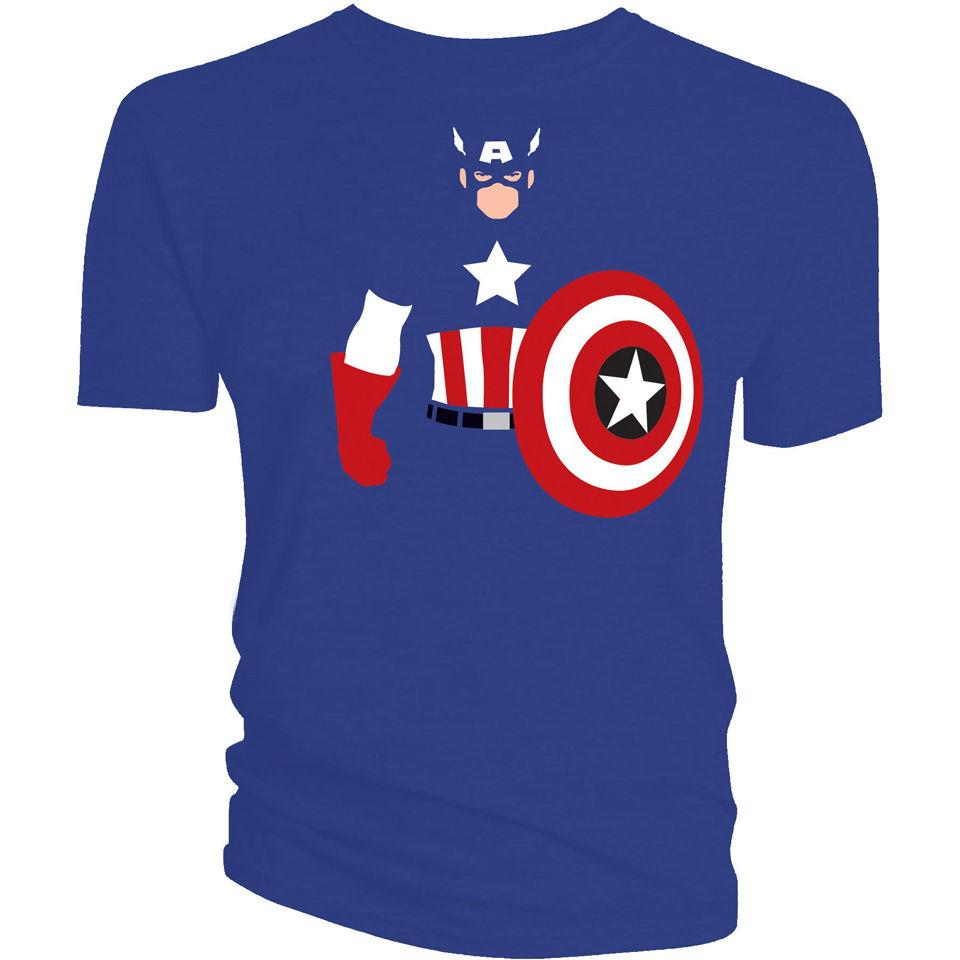 Captain america shirt game show