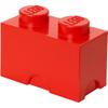 LEGO Storage Brick 2- Red: Image 1