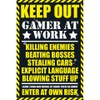 Gaming Keep Out - Maxi Poster - 61 x 91.5cm: Image 1