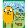 Adventure Time Suckin - Mini Poster - 40 x 50cm: Image 1