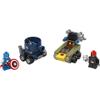 LEGO DC Vs. Marvel Mighty Micros: Captain America Vs. Red Skull (76065): Image 3