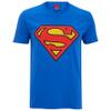 DC Comics Men's Superman Logo T-Shirt - Royal Blue: Image 1