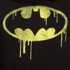 DC Comics Men's Batman Dripping Logo Hoody - Black: Image 3