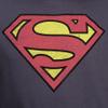 DC Comics Men's Superman Distress Logo Hoody - Petrol Blue: Image 3