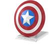 Marvel Avengers Captain Shield Metal Earth Construction Kit: Image 1