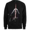 Star Wars Men's Kylo Ren Lightsabre Sweatshirt - Black: Image 1