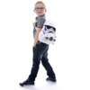 Star Wars Storm Trooper Head Shaped Backpack: Image 2