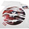 Marvel Men's Captain America Civil War Smoke Sheild T-Shirt - White: Image 2