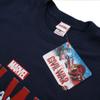 Marvel Men's Captain America Civil War Logo T-Shirt - Navy: Image 3