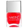 nails inc. Great Eastern Street Nail Polish - Neon Coral 14ml: Image 1