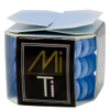 MiTi Professional Hair Tie - Powder Blue (3pc): Image 2