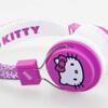 Hello Kitty Folding On-Ear Headphones - Fuzzy Bow: Image 2