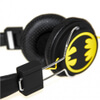 Batman Classic The Dark Knight Folding On-Ear Headphones - Yellow Logo: Image 3