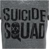 DC Comics Men's Suicide Squad Logo T-Shirt - Grey: Image 4
