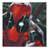 Marvel Men's Deadpool Dollar T-Shirt - White: Image 3