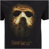 Friday the 13th Men's Mask T-Shirt - Black: Image 5