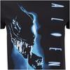 Aliens Men's Vertical T-Shirt - Black: Image 5