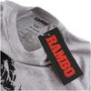 Rambo Men's Face T-Shirt - Grey Marl: Image 2